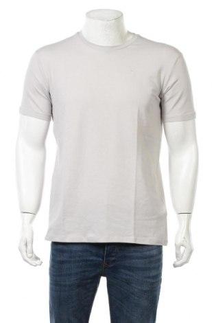 Мъжка тениска Trussardi Jeans, Размер XL, Цвят Сив, 93% памук, 7% еластан, Цена 37,40лв.