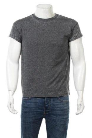Ανδρικό t-shirt Undiz, Μέγεθος S, Χρώμα Γκρί, 65% πολυεστέρας, 35% βαμβάκι, Τιμή 11,21€