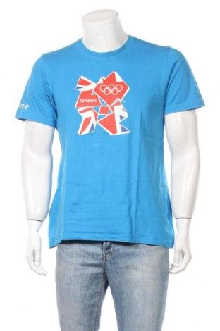 Ανδρικό t-shirt United Colors Of Benetton, Μέγεθος XL, Χρώμα Μπλέ, Βαμβάκι, Τιμή 7,22€