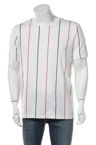 Ανδρικό t-shirt Weekday, Μέγεθος S, Χρώμα Λευκό, Βαμβάκι, Τιμή 6,43€