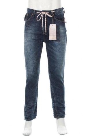 Мъжки дънки Alcott, Размер S, Цвят Син, 91% памук, 8% полиестер, 1% еластан, Цена 52,00лв.