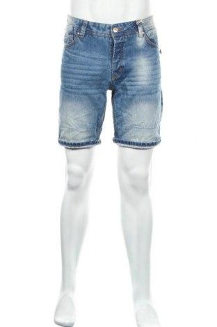 Мъжки къс панталон Alcott, Размер M, Цвят Син, 100% памук, Цена 26,60лв.