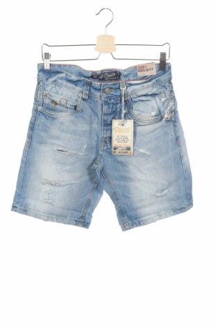 Мъжки къс панталон Alcott, Размер S, Цвят Син, 100% памук, Цена 24,70лв.