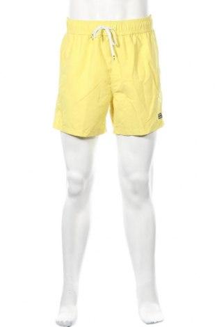 Ανδρικό κοντό παντελόνι Billabong, Μέγεθος M, Χρώμα Κίτρινο, Πολυεστέρας, Τιμή 11,56€