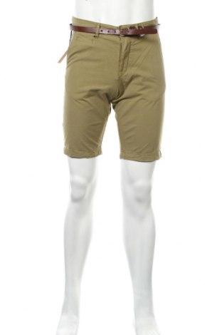 Мъжки къс панталон Celio, Размер M, Цвят Зелен, Памук, Цена 20,58лв.