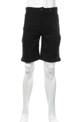 Мъжки къс панталон Forvert, Размер S, Цвят Черен, Памук, Цена 22,88лв.