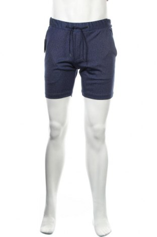 Мъжки къс панталон Guido Maria Kretschmer, Размер S, Цвят Син, 50% полиестер, 50% вискоза, Цена 51,35лв.