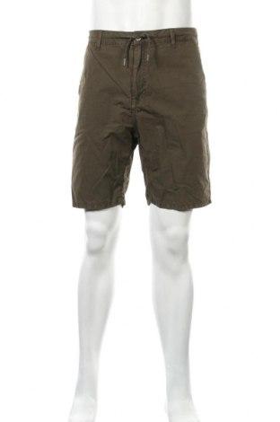 Ανδρικό κοντό παντελόνι Springfield, Μέγεθος XL, Χρώμα Πράσινο, Βαμβάκι, Τιμή 12,73€