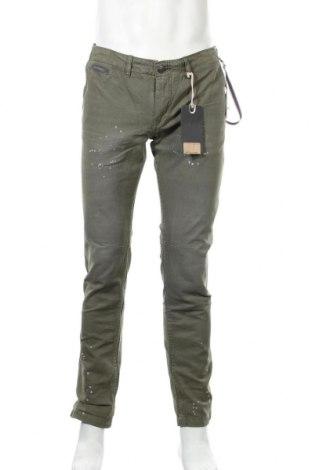 Мъжки панталон Alcott, Размер M, Цвят Зелен, Памук, Цена 48,00лв.