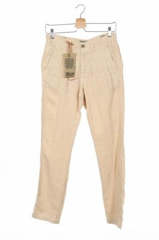 Ανδρικό παντελόνι MCS, Μέγεθος S, Χρώμα  Μπέζ, Λινό, Τιμή 52,27€