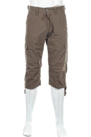 Мъжки панталон Schott, Размер S, Цвят Зелен, 68% памук, 32% полиамид, Цена 10,81лв.