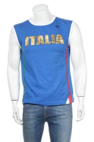 Ανδρική αμάνικη μπλούζα Duarig, Μέγεθος S, Χρώμα Μπλέ, Βαμβάκι, Τιμή 6,46€
