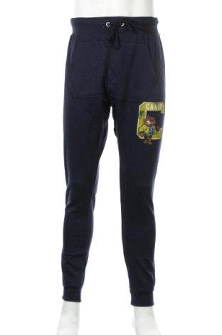 Мъжко спортно долнище Alcott, Размер M, Цвят Син, 50% памук, 50% полиестер, Цена 29,40лв.