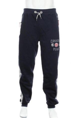 Мъжко спортно долнище Canadian Peak 1953, Размер XL, Цвят Син, 65% памук, 35% полиестер, Цена 62,30лв.
