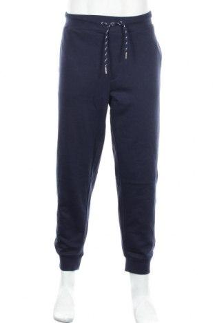 Мъжко спортно долнище New Man, Размер XL, Цвят Син, 60% памук, 40% полиестер, Цена 34,30лв.