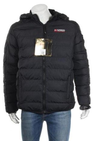 Мъжко яке Geographical Norway, Размер XL, Цвят Син, Полиамид, Цена 161,40лв.
