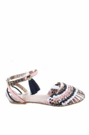 Παπούτσια Carrement Beau, Μέγεθος 35, Χρώμα Πολύχρωμο, Γνήσιο δέρμα, κλωστοϋφαντουργικά προϊόντα, Τιμή 27,69€