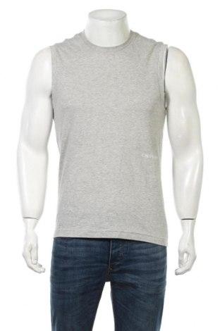 Пижама Calvin Klein, Размер S, Цвят Сив, Памук, Цена 19,60лв.