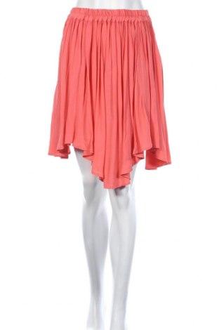 Φούστα Naf Naf, Μέγεθος S, Χρώμα Ρόζ , Βισκόζη, Τιμή 8,20€