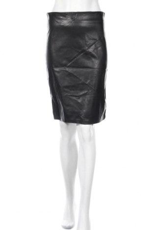 Φούστα Orna Farho, Μέγεθος M, Χρώμα Μαύρο, Δερματίνη, πολυεστέρας, Τιμή 24,43€