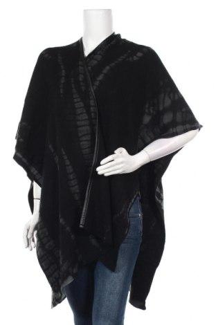 Пончо Lauren Vidal, Размер S, Цвят Черен, 100% вълна, Цена 121,72лв.