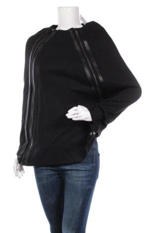 Пончо Lauren Vidal, Размер S, Цвят Черен, 60% вълна, 40% акрил, Цена 121,72лв.