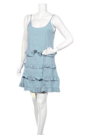 Φόρεμα TINA, Μέγεθος L, Χρώμα Μπλέ, 65% βαμβάκι, 35% πολυεστέρας, Τιμή 14,60€