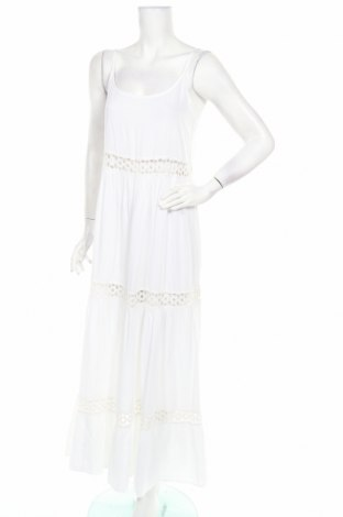 Φόρεμα Lauren Vidal, Μέγεθος M, Χρώμα Λευκό, Βισκόζη, Τιμή 30,45€