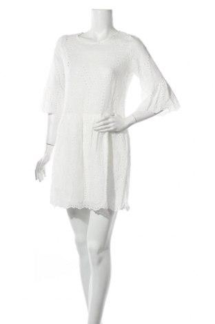 Рокля Me You Concept, Размер L, Цвят Бял, 65% памук, 35% полиестер, Цена 37,80лв.