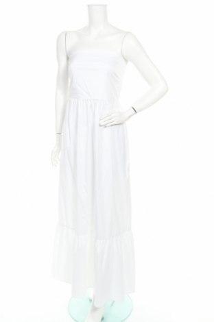 Рокля TWINSET, Размер L, Цвят Бял, 76% памук, 21% полиамид, 3% еластан, Цена 131,45лв.
