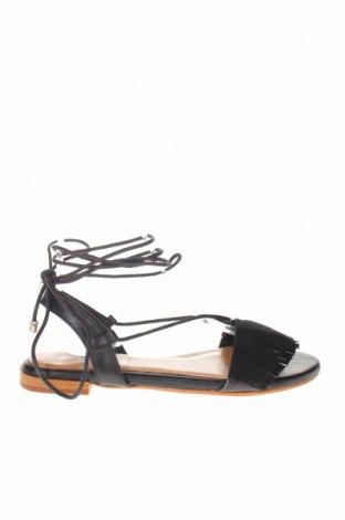 Σανδάλια Noa Harmon, Μέγεθος 38, Χρώμα Μαύρο, Γνήσιο δέρμα, Τιμή 32,51€