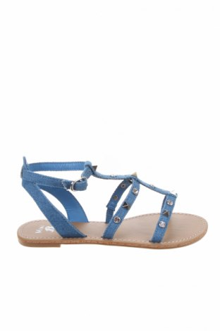 Σανδάλια Bata, Μέγεθος 34, Χρώμα Μπλέ, Κλωστοϋφαντουργικά προϊόντα, Τιμή 17,64€