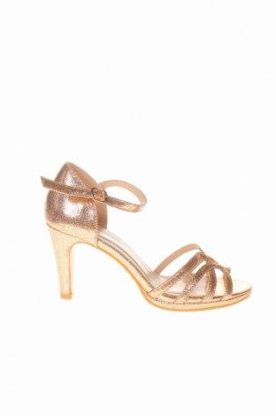 Σανδάλια Belle Women, Μέγεθος 36, Χρώμα Χρυσαφί, Κλωστοϋφαντουργικά προϊόντα, Τιμή 23,12€