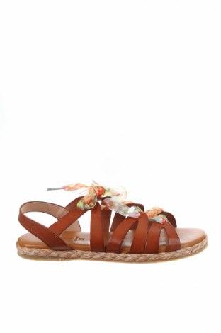 Σανδάλια CSY, Μέγεθος 39, Χρώμα Καφέ, Γνήσιο δέρμα, κλωστοϋφαντουργικά προϊόντα, Τιμή 27,53€