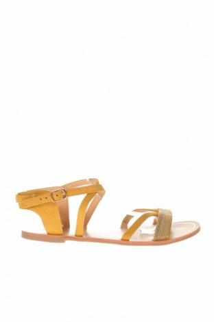 Σανδάλια Camaieu, Μέγεθος 40, Χρώμα Πορτοκαλί, Κλωστοϋφαντουργικά προϊόντα, Τιμή 16,42€