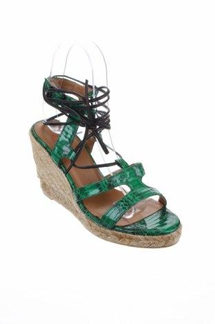 Σανδάλια Castaner, Μέγεθος 36, Χρώμα Πράσινο, Γνήσιο δέρμα, Τιμή 58,45€