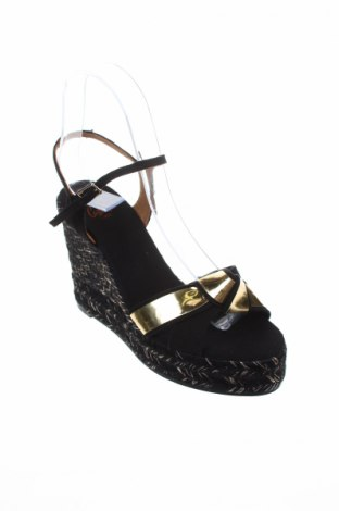 Σανδάλια Castaner, Μέγεθος 36, Χρώμα Μαύρο, Κλωστοϋφαντουργικά προϊόντα, Τιμή 42,24€