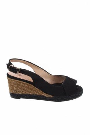 Σανδάλια Castaner, Μέγεθος 36, Χρώμα Μαύρο, Κλωστοϋφαντουργικά προϊόντα, Τιμή 44,54€