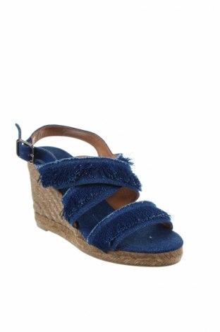 Σανδάλια Castaner, Μέγεθος 36, Χρώμα Μπλέ, Κλωστοϋφαντουργικά προϊόντα, Τιμή 40,70€