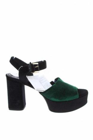 Σανδάλια Geox, Μέγεθος 41, Χρώμα Πράσινο, Κλωστοϋφαντουργικά προϊόντα, Τιμή 26,76€