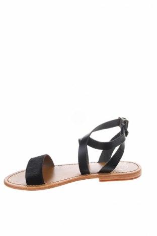Σανδάλια, Μέγεθος 39, Χρώμα Μαύρο, Γνήσιο δέρμα, φυσική τρίχα, Τιμή 28,90€