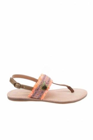 Σανδάλια Irl, Μέγεθος 36, Χρώμα Πολύχρωμο, Φυσικό σουέτ, κλωστοϋφαντουργικά προϊόντα, Τιμή 23,12€