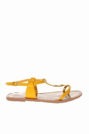 Σανδάλια Irl, Μέγεθος 40, Χρώμα Κίτρινο, Δερματίνη, Τιμή 16,42€