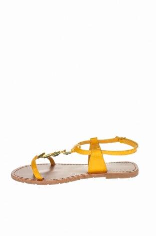 Σανδάλια Irl, Μέγεθος 38, Χρώμα Κίτρινο, Δερματίνη, Τιμή 16,42€