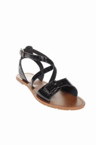 Σανδάλια Irl, Μέγεθος 39, Χρώμα Μαύρο, Δερματίνη, Τιμή 14,65€
