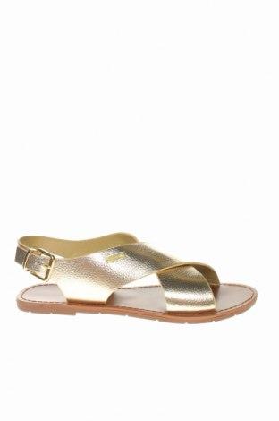 Σανδάλια Irl, Μέγεθος 41, Χρώμα Χρυσαφί, Δερματίνη, Τιμή 25,26€