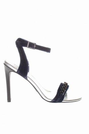 Σανδάλια Karl Lagerfeld, Μέγεθος 39, Χρώμα Μπλέ, Κλωστοϋφαντουργικά προϊόντα, Τιμή 76,22€