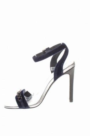 Σανδάλια Karl Lagerfeld, Μέγεθος 36, Χρώμα Μπλέ, Κλωστοϋφαντουργικά προϊόντα, Τιμή 76,22€
