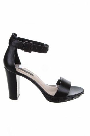 Σανδάλια Kiomi, Μέγεθος 36, Χρώμα Μαύρο, Γνήσιο δέρμα, Τιμή 42,27€