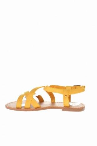 Σανδάλια LPB Les P'tites Bombes, Μέγεθος 37, Χρώμα Κίτρινο, Κλωστοϋφαντουργικά προϊόντα, Τιμή 15,91€
